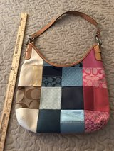 coach patchwork purse in Plainfield, Illinois