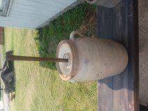 Antique butter churn in Fort Leonard Wood, Missouri