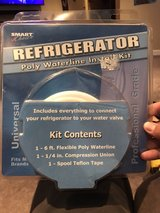 Refrigerator poly waterline install kit in Chicago, Illinois