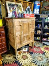 primitive 1830's kitchen cabinet pantry in Cherry Point, North Carolina