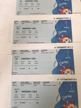 USA Sweden World Cup Tickets in Ramstein, Germany