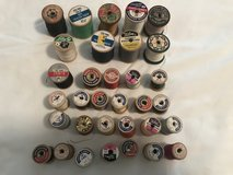 Vintage Wooden thread spools in Fort Rucker, Alabama