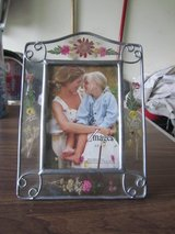 Flowery picture frame in Batavia, Illinois