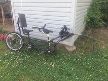 Adams two seat trail a bike trailer in Fort Leonard Wood, Missouri