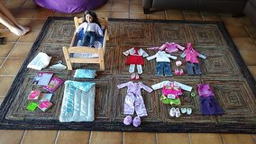 American Girl Doll with 6 outfits in Ramstein, Germany