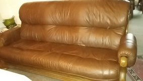 Leather couch and more in bookoo, US