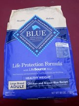 30lb Blue Buffalo Dog Food 2bags in Glendale Heights, Illinois