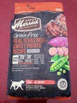 12lb Merrick dog food in Glendale Heights, Illinois