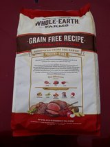 25lb Whole Earth dog food in Glendale Heights, Illinois