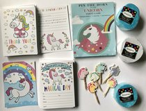 Unicorn Party - Cards - Game - Cupcake Picks & Streamers $20 For ALL in Fort Campbell, Kentucky