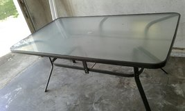 Outdoor Patio Glass Table in Travis AFB, California