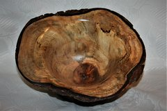 "Hand turned 8"" X 4"" Maple Burl Bowl in Camp Lejeune, North Carolina"