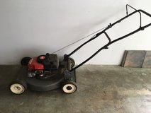 Craftsman lawnmower and other yard care tools in Plainfield, Illinois