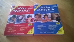 Building Thinking Skills Leve 1 and Level 2 (Critical Thinking Skills for Reading • Writing • Ma... in Joliet, Illinois