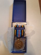 VIETNAM WAR US MILITARY ARMED FORCES EXPEDITIONARY SVC MEDAL AND BAR in Chicago, Illinois