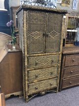 Wicker Dresser in Elgin, Illinois