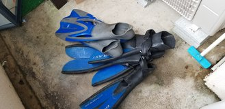 Diving fins 3 pairs in Okinawa, Japan
