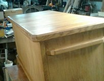 Cedar lined with oak exterior blanket chest in Conroe, Texas