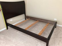 Mahogany Full Size Bed Frame in Plainfield, Illinois