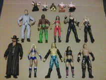 Bag of WWE wrestling figures in Beaufort, South Carolina