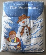 Soft Material Snowman Book in Okinawa, Japan