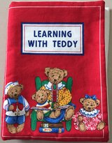 Soft Material Book Learning with Teddy in Okinawa, Japan