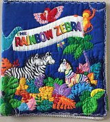 Soft Material Book Rainbow Zebra in Okinawa, Japan