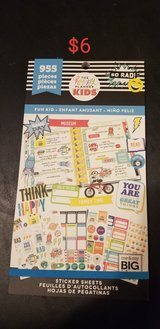 Planner stickers in Camp Pendleton, California