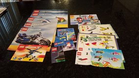 11 Lego Creator Instruction Books in Aurora, Illinois
