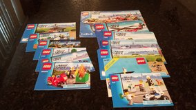 11 Lego City Instruction Books in Aurora, Illinois