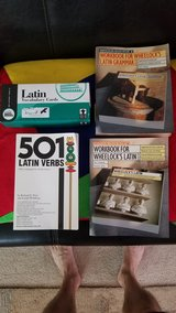 Latin cue cards and workbooks in bookoo, US