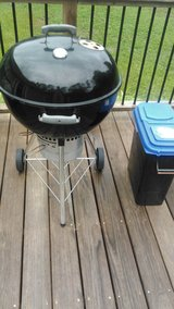 "Weber 22"" premium kettle grill in Cherry Point, North Carolina"