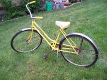 "Ladies ""Yellow"" 1960 Bike in DeKalb, Illinois"