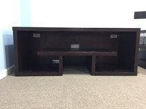 Dark Brown TV Unit/Media center in Naperville, Illinois