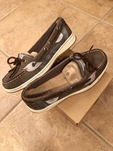 Brand New In Box Sperry Angelfish Graphite Shoes Size 7 in Nellis AFB, Nevada