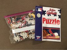 St Louis Cardinals puzzle in Fort Leonard Wood, Missouri