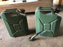 Metal Gas Cans/Jerry Cans in Kingwood, Texas