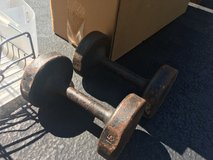 15lb dumbbell (2) in Westmont, Illinois