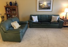 Free Leather love seat and couch, pick up by 6/23/19 in Chicago, Illinois