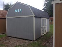 12x16 Lofted Barn Storage Building Shed DISCOUNTED!! in Moody AFB, Georgia