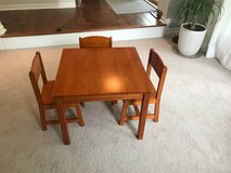 Child's table & 3 chairs in Westmont, Illinois