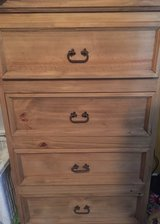 rustic all wood like new chest dresser in Houston, Texas