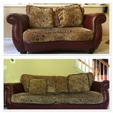 GENUINE LEATHER COUCH AND LOVESEAT in Chicago, Illinois