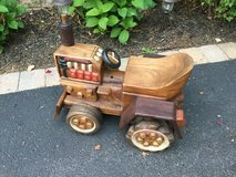 Handcarved Wooden Tractor in Tinley Park, Illinois