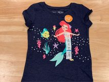 BRAND NEW WITH TAG - Toddler Girl Disney Little Mermaid Short Sleeve Shirt - Size 3T in Chicago, Illinois