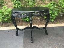 Carved Hall Table in Tinley Park, Illinois