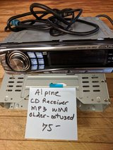 Alpine CD receiver and MP3 in 29 Palms, California