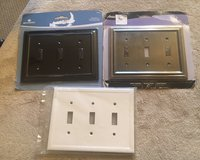Triple Switch Wall Plates in Naperville, Illinois
