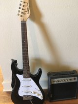 Electric Guitar and Amp. in San Diego, California