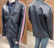 Near new faux leather motorcycle jacket in Westmont, Illinois